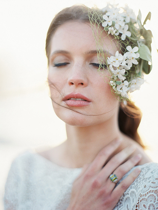 Wedding Makeup For Beach : Blog - Magnolia Rouge Newest Issue + Beach Bridal Session Tips