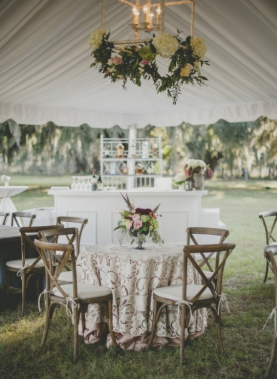 southern tent reception