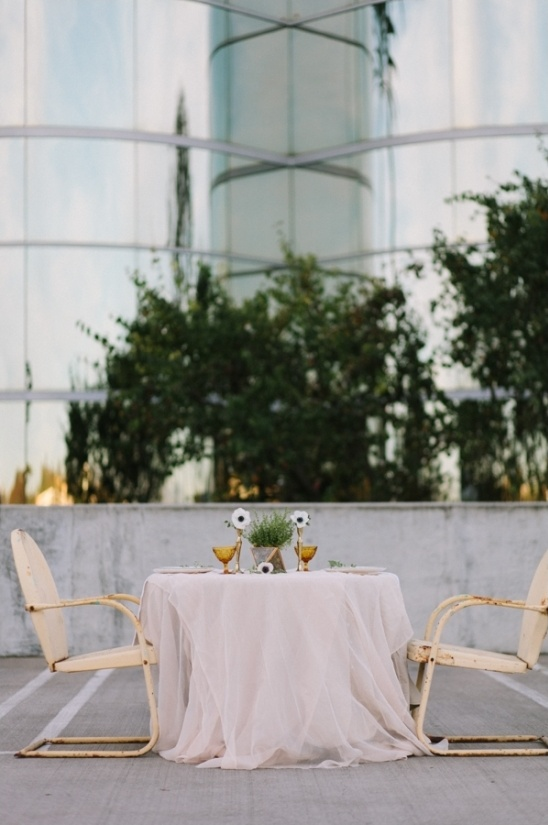 rooftop dinner for two