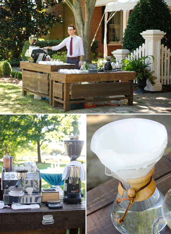 Espresso Station At Your Wedding