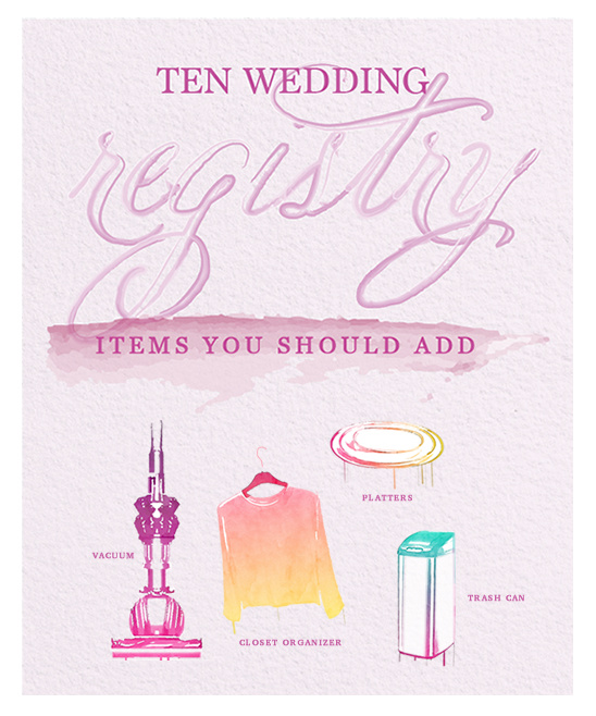 Add Items To Your Registry