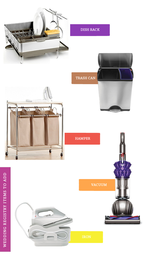 macys wedding registry items