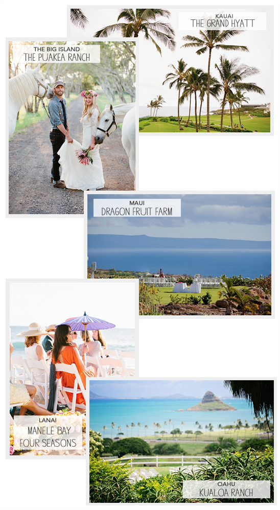 Hawaii Wedding Venue Ideas