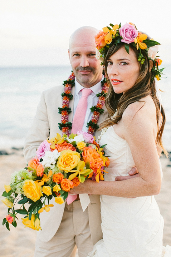 elegant Hawaiian Wedding