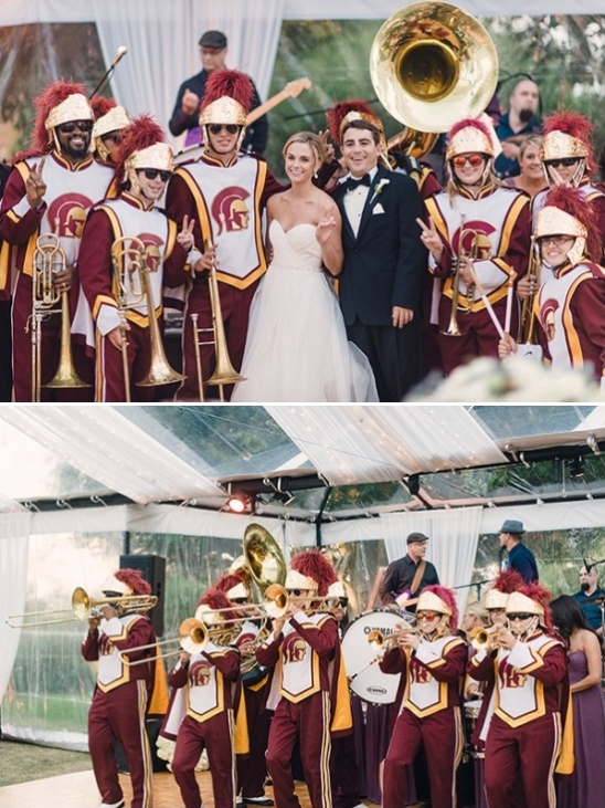 USC wedding band
