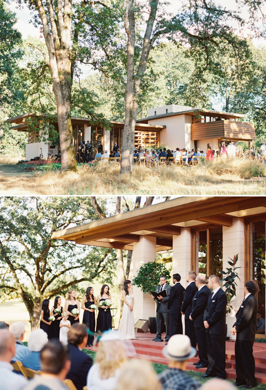 Frank Lloyd Wright House Wedding