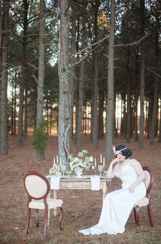 vintage woodsy wedding ideas