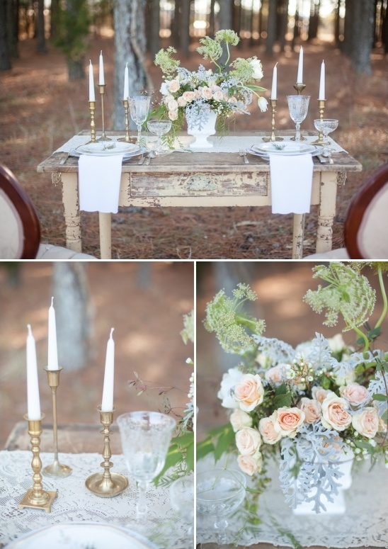 shabby chick vintage wedding ideas