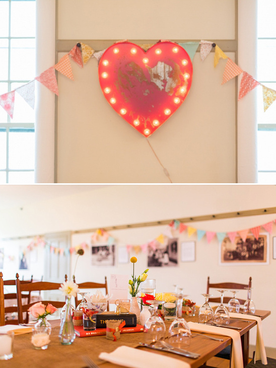 soft and sweet reception decor
