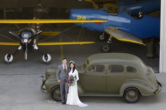 WWII Inspired Bridal shoot