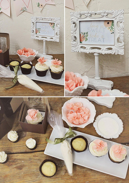 decorate your own cupcake favor