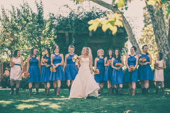 Cowboys & Bridesmaids - Studio 7 Photography