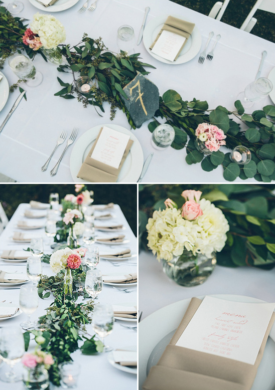 stone slabs for table numbers
