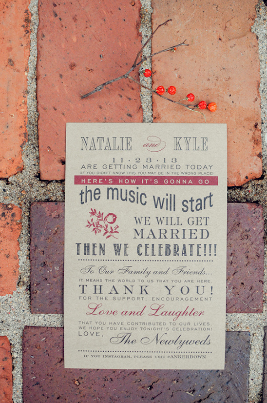 black and cranberry wedding stationery