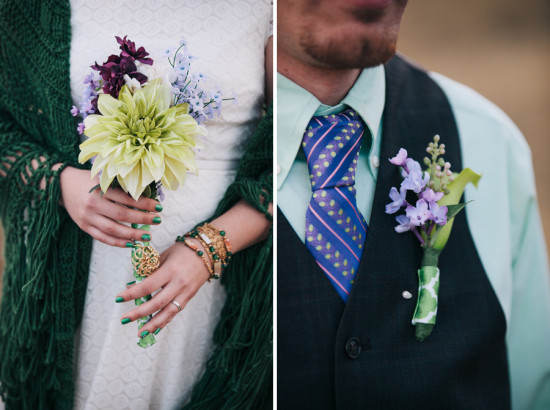 St Patrick's Day Colorado Elopement by Kendall Pavan Photography