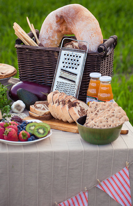 sweet and savory table