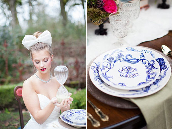 love wedding plates
