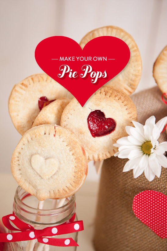 make your own pie pops