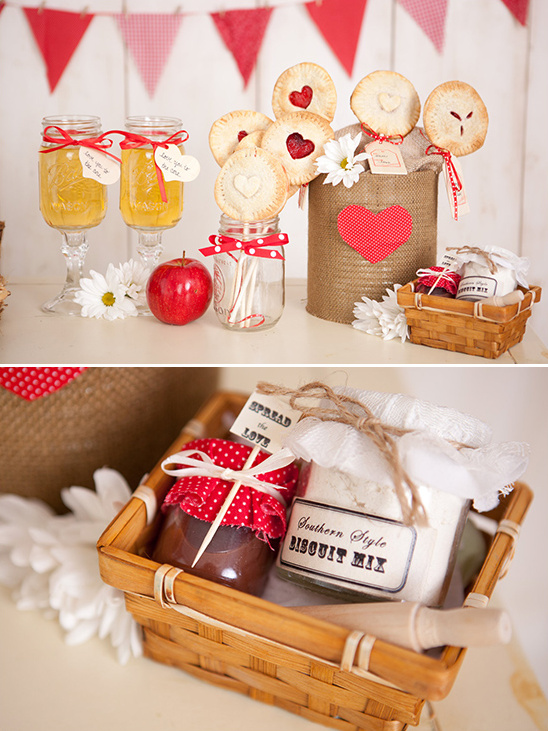 biscuit mix wedding favors