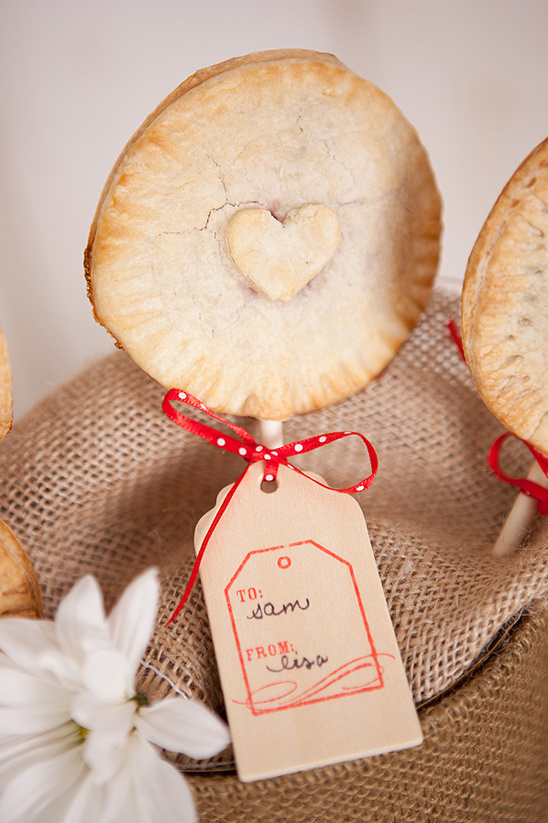 make your own pie pops as favors