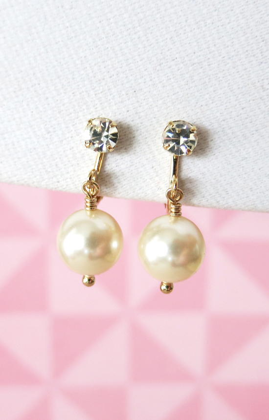 Bridal Earrings for the Non-pierced Brides and Bridesmaids