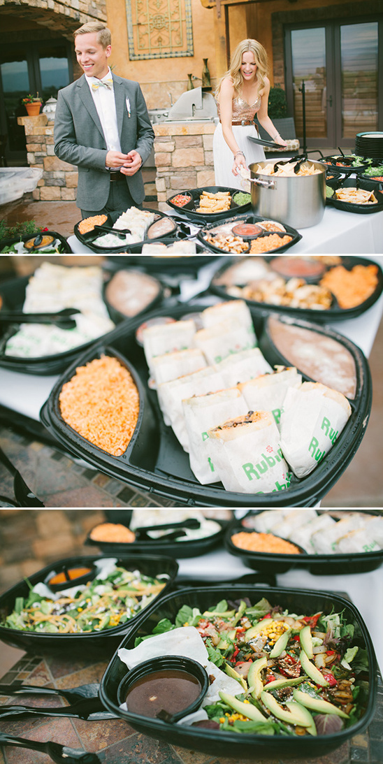 have your wedding catered by rubios
