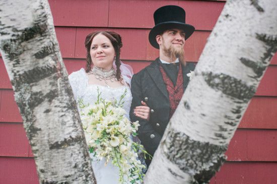 Mountain Springs Lake Resort Wedding | Tim Burton Inspired