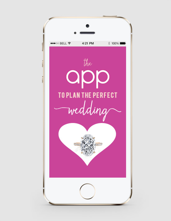 The app to plan the perfect wedding