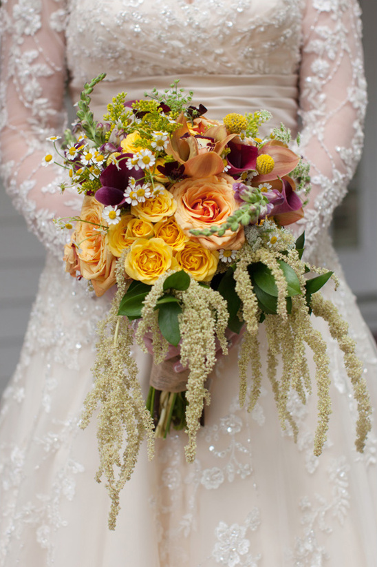 dramatic romance bouquet