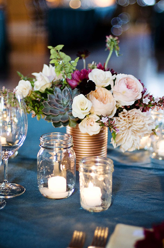 coffee can floral centerpieces