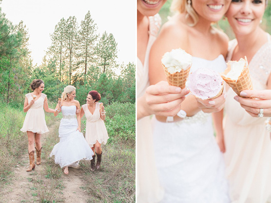 ice cream at your wedding