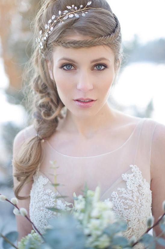 wedding hair and makeup ideas for the winter