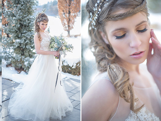 winter bridal makeup ideas