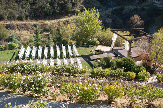 Serendipity Gardens outdoor wedding location