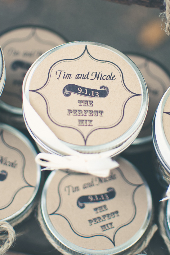 the perfect mix wedding favors
