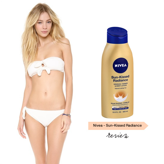 Nivea Sun Kissed Radiance Gradual Tanner & Body Lotion