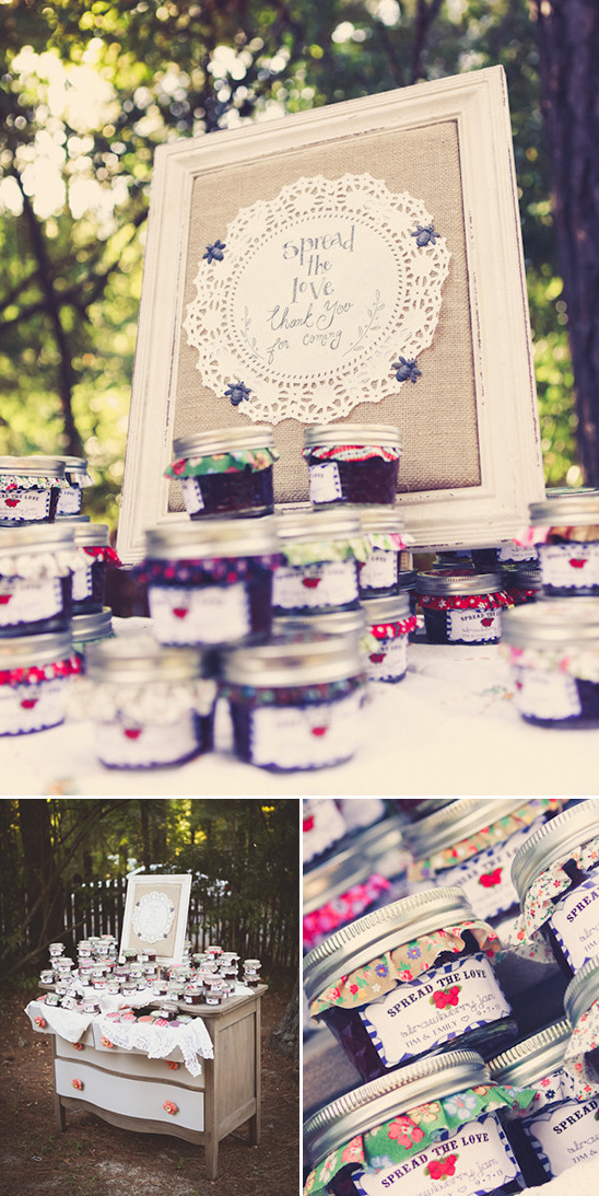 spread the love jam favors