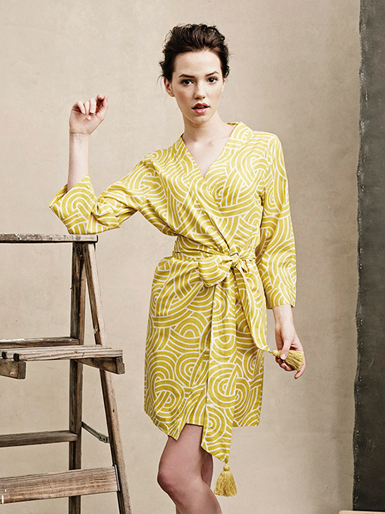 modern short robe from Plum Pretty Sugar