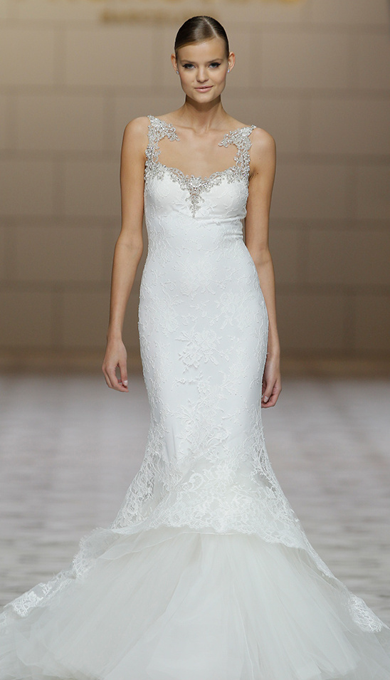 Mermaid Wedding Gown by Pronovias