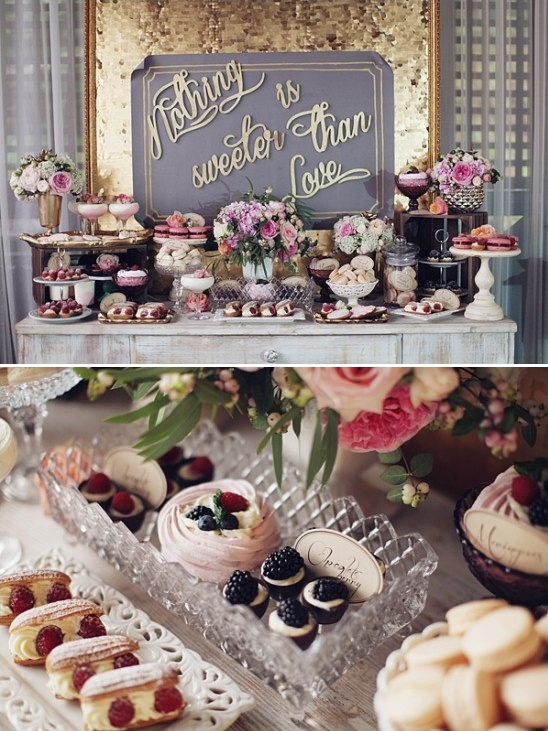 nothing is sweeter then love dessert table