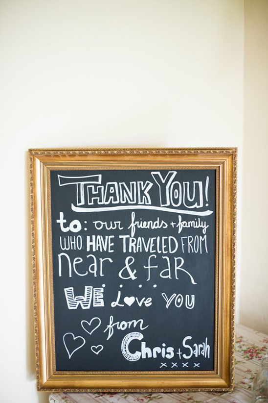 thank you to our friends sign
