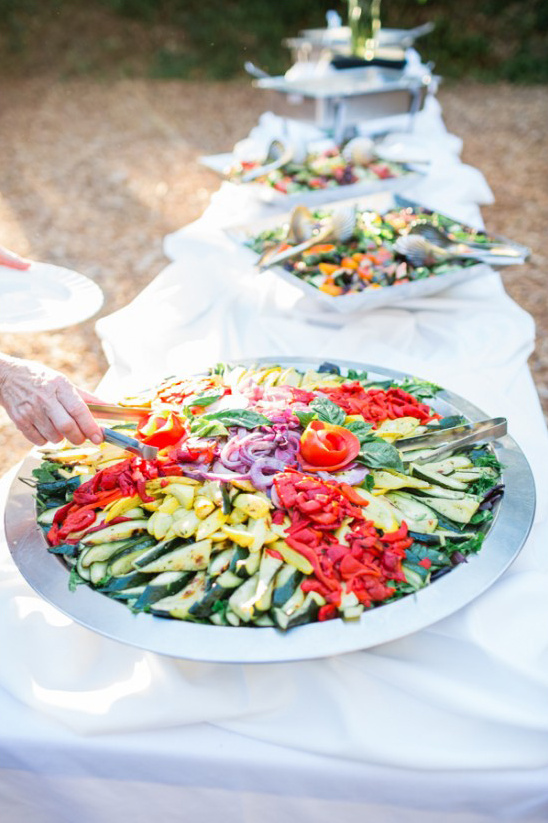 wedding reception five star catering