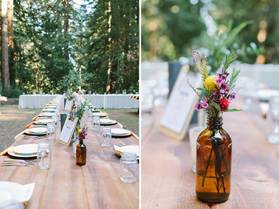 camp style wedding ideas