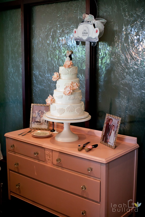 Pink and Black Knoxville Wedding