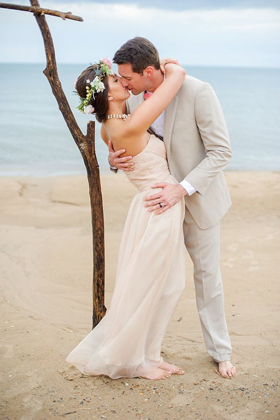 The Perfect Beach Wedding In Chicago