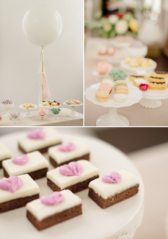 sweet treats for your bridal shower