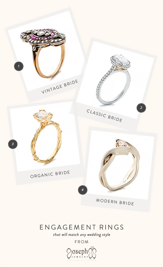 engagement rings from Joseph Jewelry
