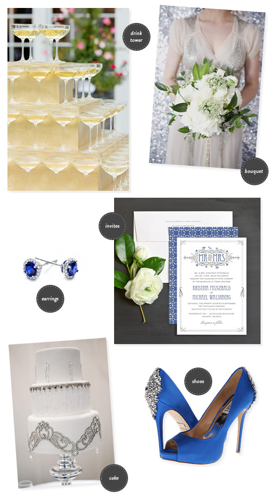 art deco wedding ideas