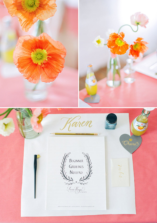 workshop place setting