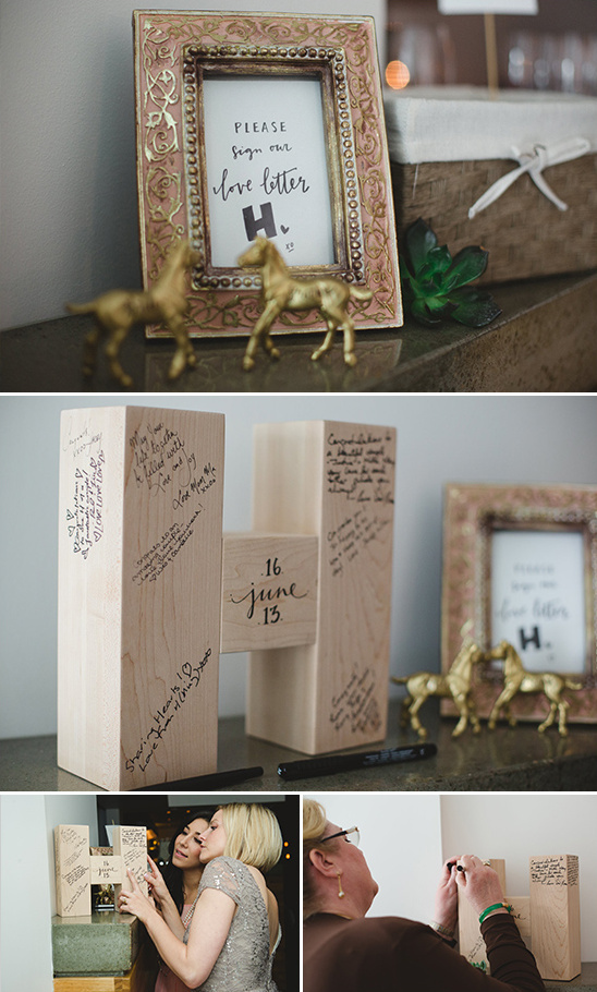 love letter H alternative guestbook